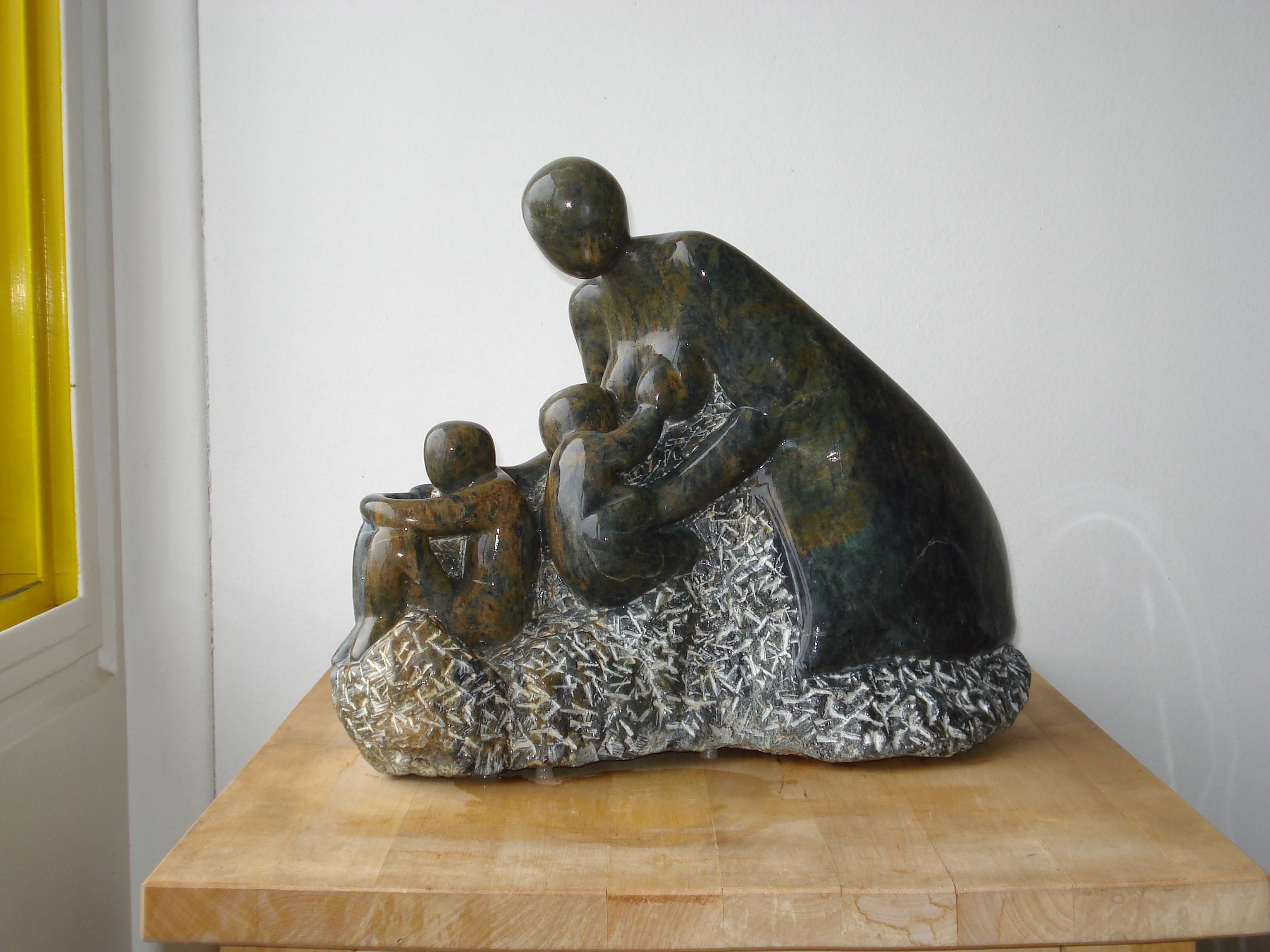Une bonne mère (stéatite)